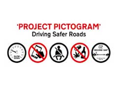 Project Pictogram - Driving Safer Roads - The 5 pictograms