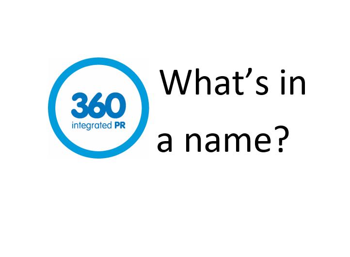 360 integrated PR logo